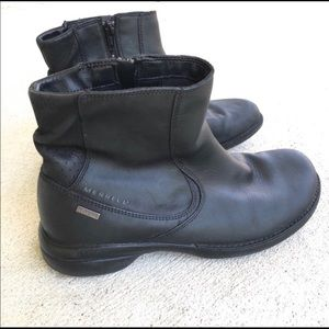 Merrell Waterproof Performance Leather Ankle Boots